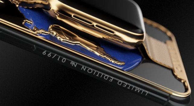 Apple x Caviar : Un iPhone XS max au style audacieux