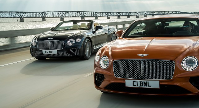 Bentley Continental GT V8 Coupé : L'essence du constructeur britannique