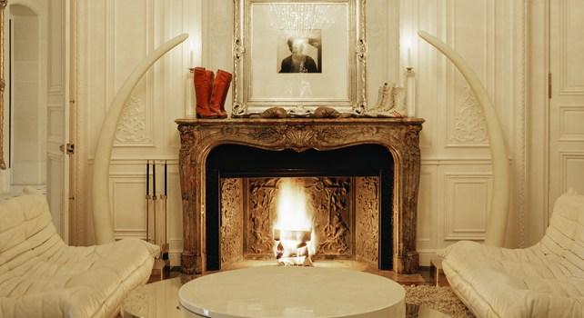 Palais Rock : Le palais parisien de Lenny Kravitz où l'art de la musique rencontre l'art décoratif