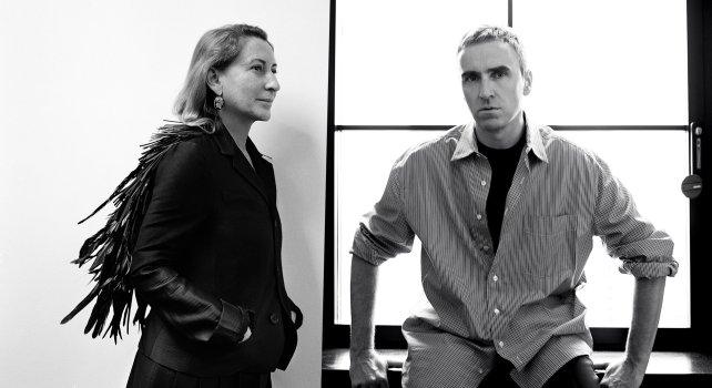 Prada : Raf Simons devient co-directeur artistique de la maison