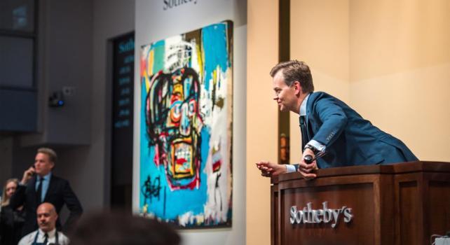Jean Michel Basquiat : Un nouveau record de vente pour une oeuvre sur papier