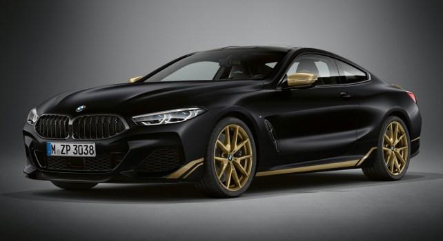 BMW Série 8 Golden Thunder Edition : Un modèle disponible en un seul exemplaire en France