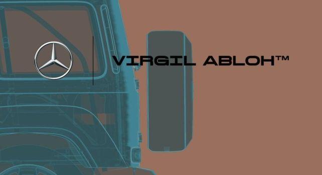 Mercedes-Benz x Virgil Abloh : Une collaboration mystère entre le monde automobile et celui de la mode