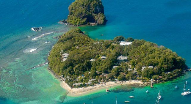 Young Island Resort : Une île paradisiaque en vente dans les caraïbes