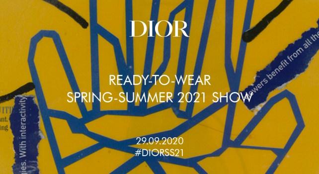 Dior Printemps-Été 2021 : Le Live