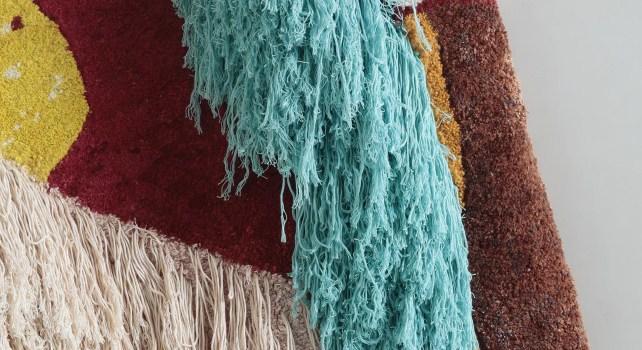 Lorenzo Vitturi Jugalbandi : Une exposition qui sublime la tapisserie indienne