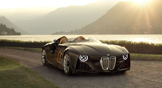 BMW 328 Hommage : Un concept-car aussi rétro que futuriste