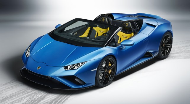 Lamborghini Huracán Evo RWD Spyder : Le retour triomphal