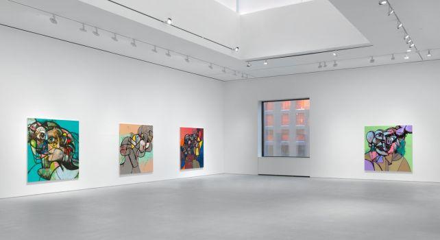 Internal Riot : La nouvelle exposition signée George Condo