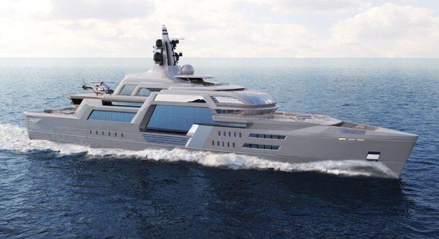 T.Fotiadis Stormbreaker : Un yacht au design aussi original que surprenant