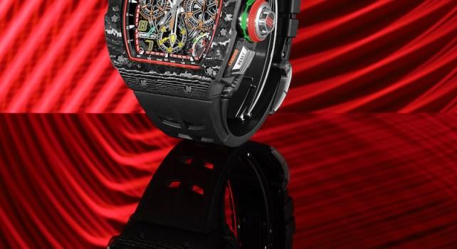 Richard Mille 65-01 : Le nouveau Chronographe à rattrapante à Remontage Automatique de l'horloger de luxe