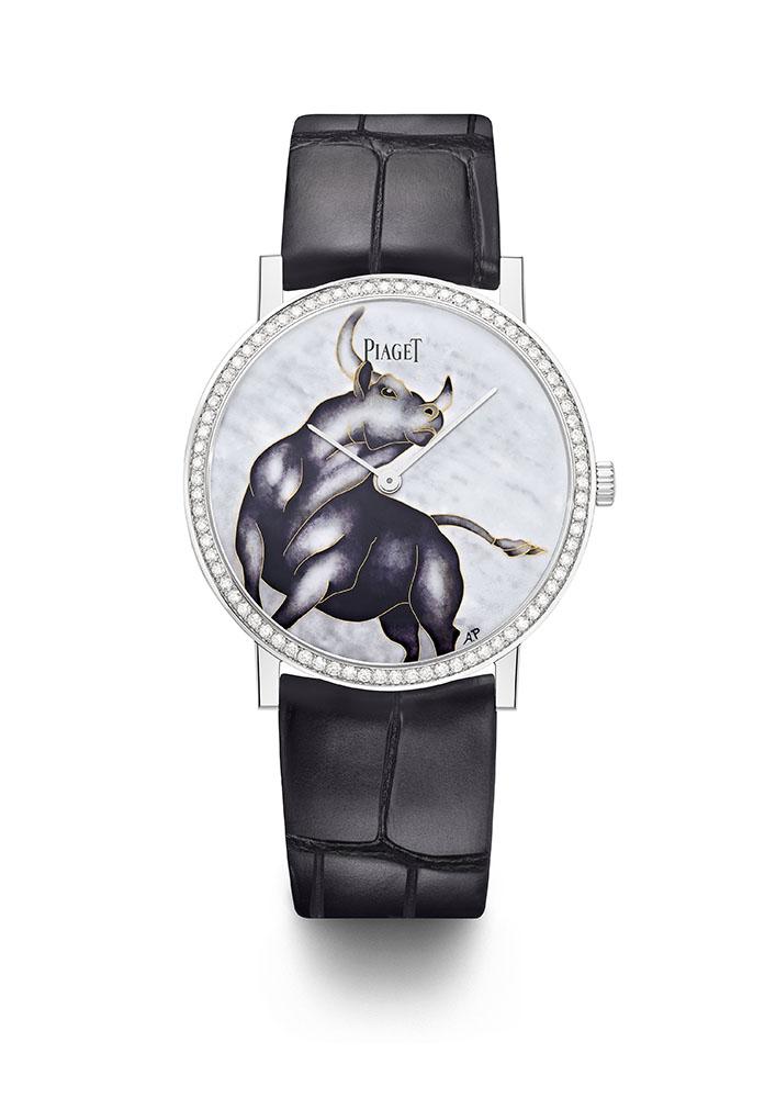montres-femme Piaget Altiplato : Le nouvel an chinois 2021 célébré par un garde-temps sous le signe du bœuf