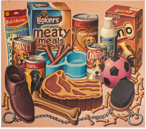 Alexander Guy Dog Products 2011 Oil on canvas 162,5 x 183 cm