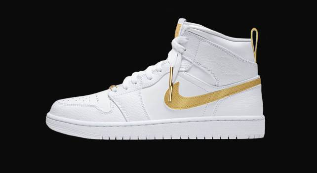 Caviar x Nike Air Jordan « Victory Gold » : Une édition faite d'or et diamants