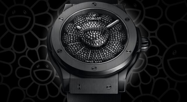 Hublot Classic Fusion «Takashi Murakami All Black» : L'artiste collabore pour la première fois avec la manufacture horlogère Suisse