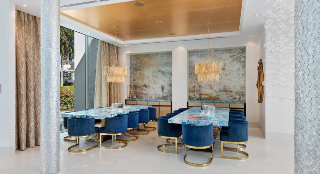 Boca Raton : Un superbe manoir de luxe en Floride aux mille couleurs