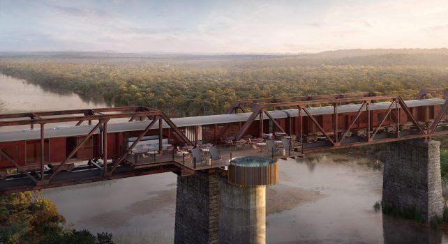 Kruger Shalati : L'hôtel de luxe sud-africain conçu dans un ancien train ouvre ses portes