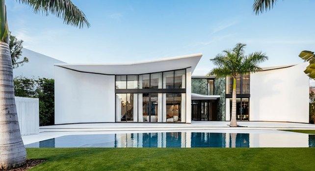 Miami : Une demeure d'exception conçue par l'architecte Achille Salvagni en vente pour 21 millions de dollars