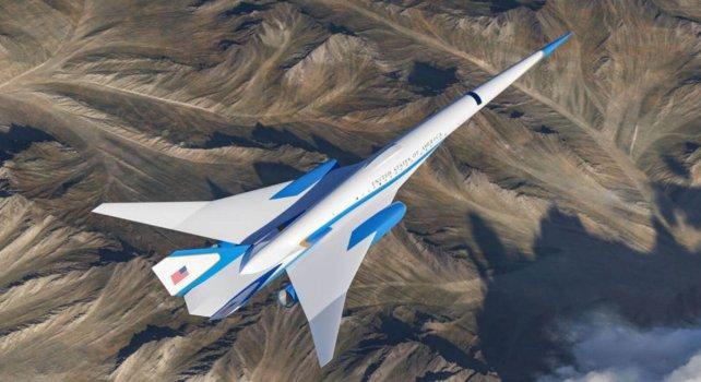 Exosonic : Découvrez le futur avion supersonique du Président américain
