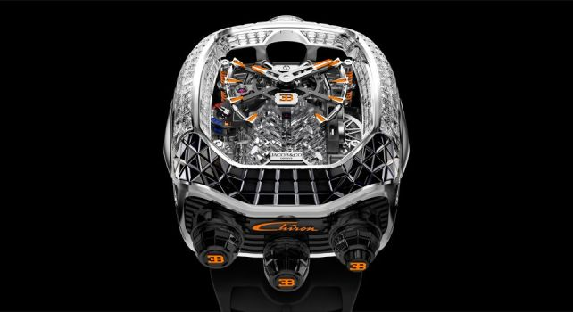 Jacob & Co. Bugatti Chiron Tourbillon Baguette Black and Orange Sapphires : Découverte d'une édition unique d'exception