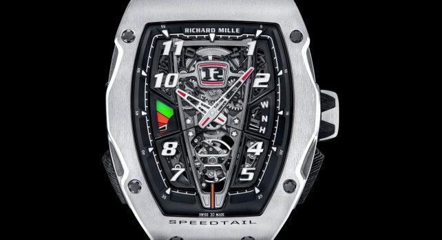 RM 40-01 Tourbillon Automatique McLaren Speedtail : Le monde horloger fusionne avec l'automobile