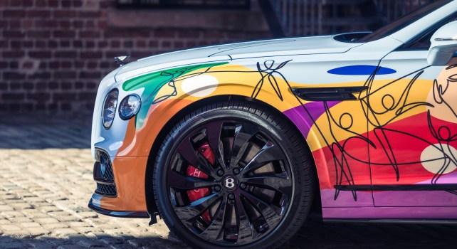 Bentley Unifying Spur : Un modèle artistique pour promouvoir la diversité et l'inclusivité