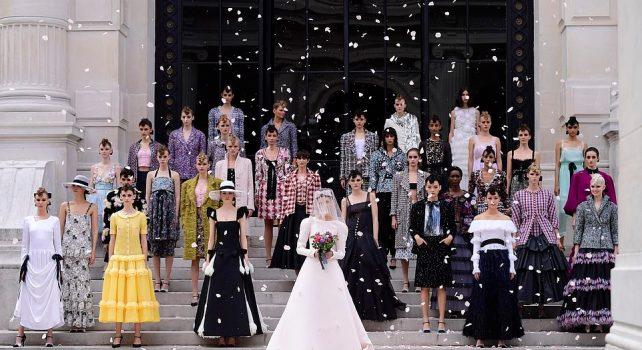 Chanel Haute-Couture Automne-Hiver 2021/22 : La Muse au musée