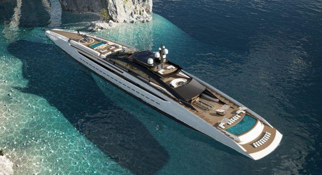 Sunrise : Le Gigayacht d'exception de 135 mètres de long