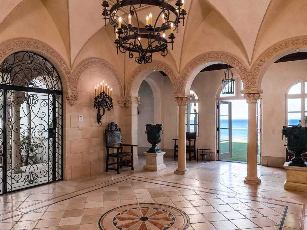 Palm Beach Mansion Lists For  30 Million Palm Beach mansion interior