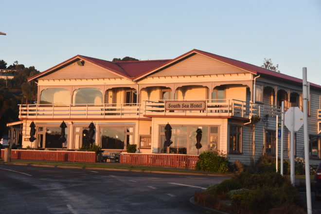 The South Sea Hotel is a Stewart Island icon