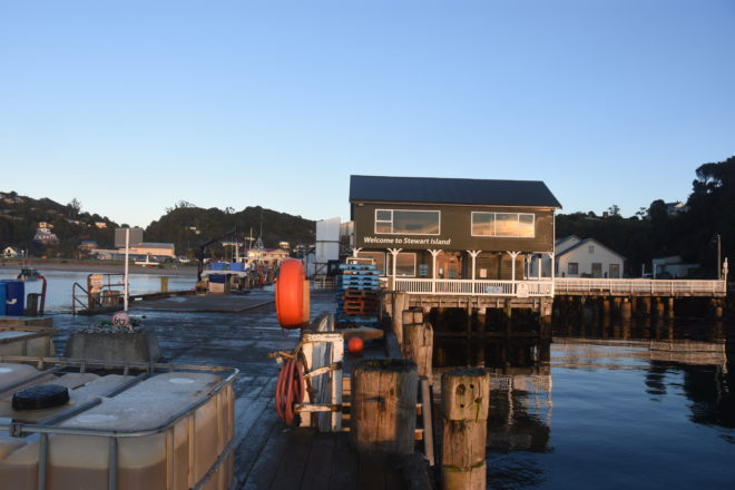 Stewart Island is New Zealand's third-largest island but only about 400 people live there