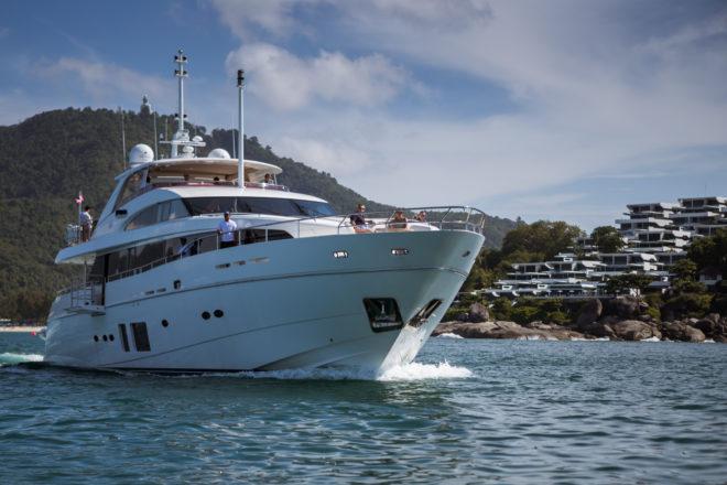 The Kata Rocks Superyacht Rendezvous features a range of activities