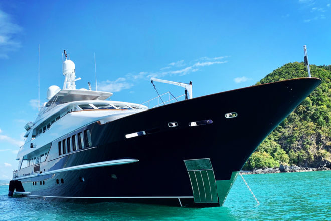 Lady Azul's recent refit was followed by multiple charter bookings