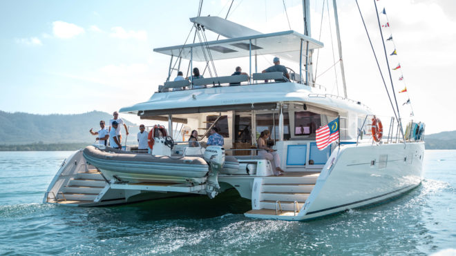 Thailand: Jyohana, the Lagoon 620, is among a fleet of sailing catamarans operated around Asia by Simpson Yacht Charter