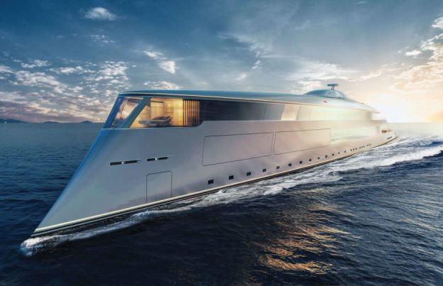 Rendering of the 112m Aqua concept presented by Sinot