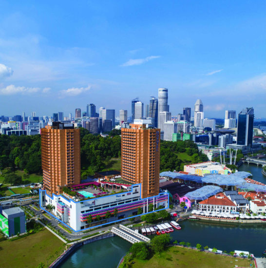 The Redevelopment of the Liang Court Area by CDL