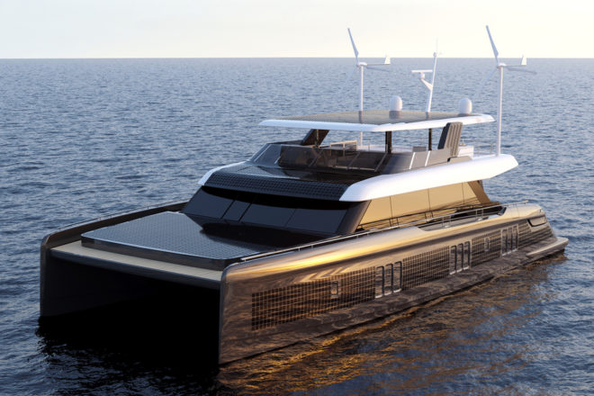 The 80 Sunreef Eco powercat is due to launch in the second half of 2020