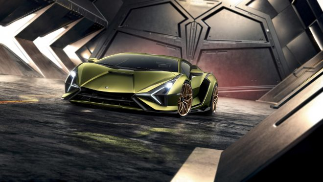 Tecnomar for Lamborghini 63 was inspired by the Sián FKP 37