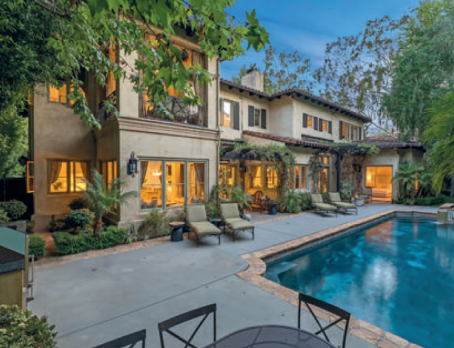 Britney Spears' villa-style home in Beverley Hills
