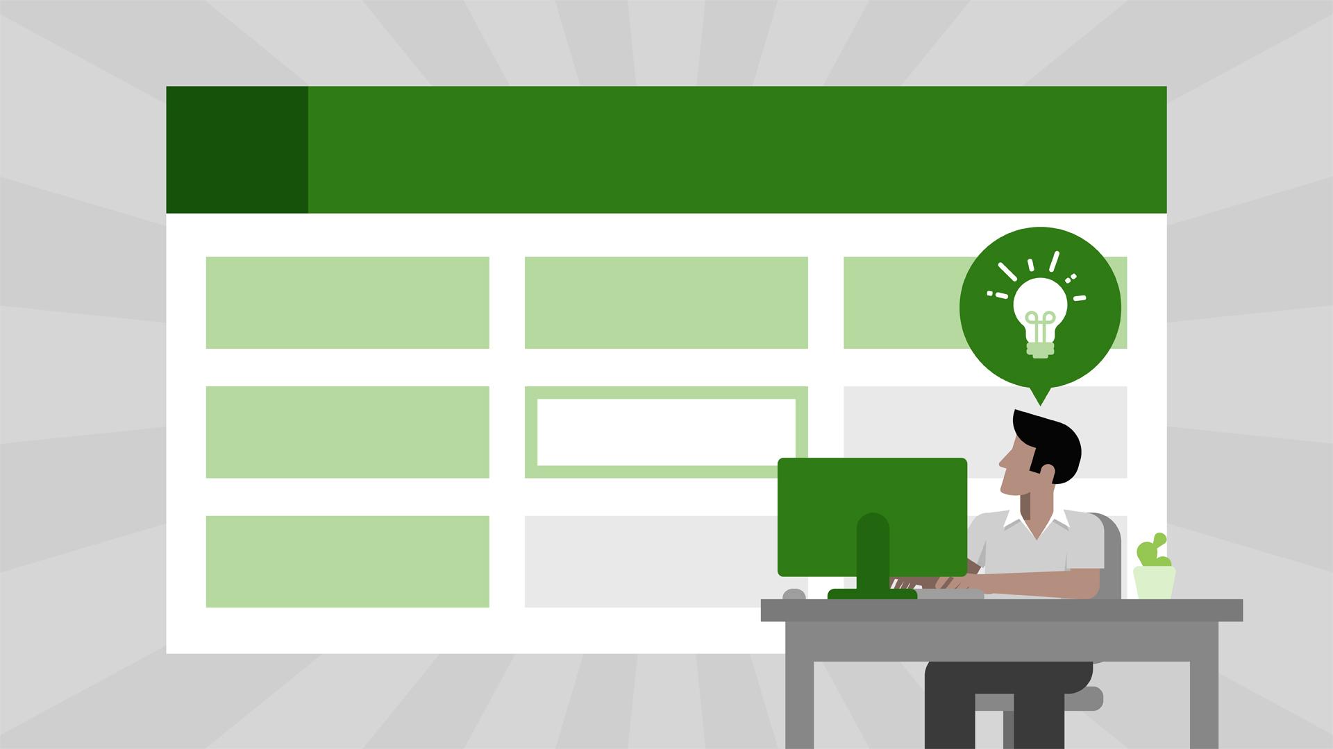 Một số thủ thuật quản lý bán hàng bằng Excel dành cho Marketer