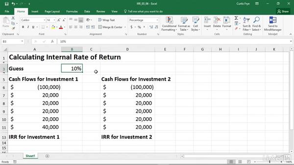 IRR: Calculating Internal Rate Of Return