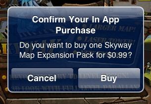 in-app acquisto