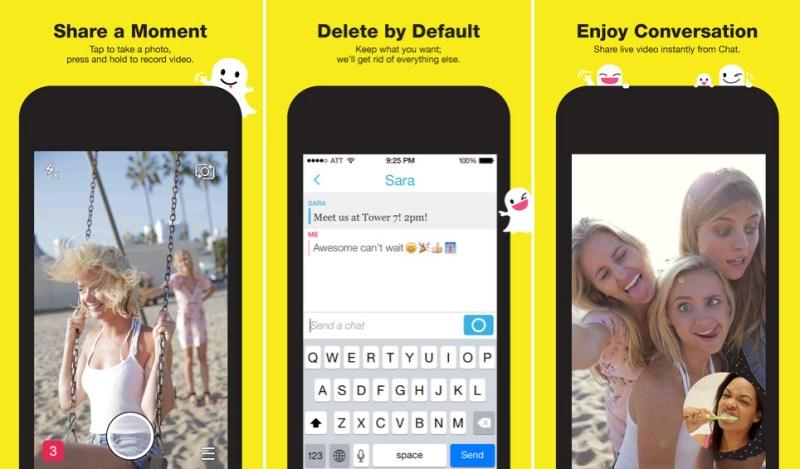 Snapchat ha aggiornato con contributo al iPhone 6 e al iPhone titoli più e migliori di 6 e filtri [blog dellIOS]