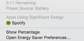 Apps using significant energy