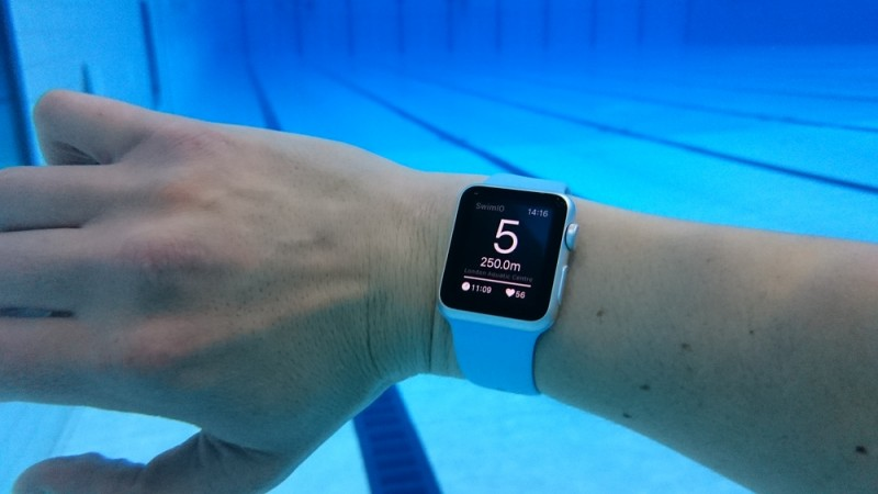 World S First Swim App On Apple Watch Put To The Test In