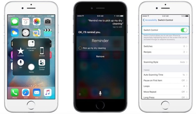 ios accessibility features
