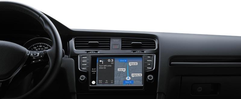 Lista matrice delle parti di Apple di mondiale disponibile dei veicoli di CarPlay