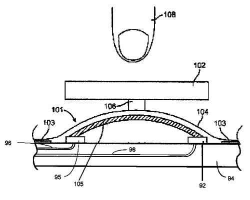 Liquidmetal-home-button-patent