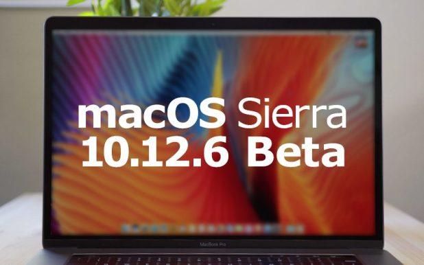 Apple Seeds Fifth Beta of macOS Sierra 10.12.6 to Developers