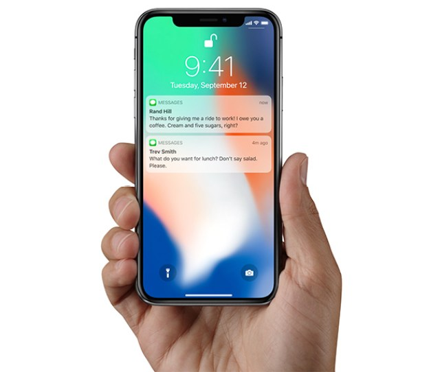 With The Attention Aware Feature The Iphone Xs Knows When Youre Looking At It Face Id Displays Notifications And Messages On The Lock Screen When You